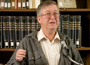 Professor Emeritus Presents at Conference