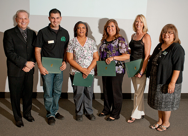 Staff Members Receive Hammond/Staff Council Scholarships