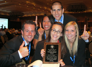 Accounting Team Finishes on Top at Nationals