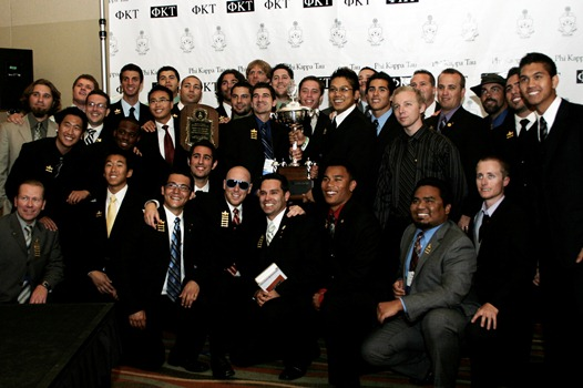 Phi Kappa Tau Named Most Outstanding National Chapter