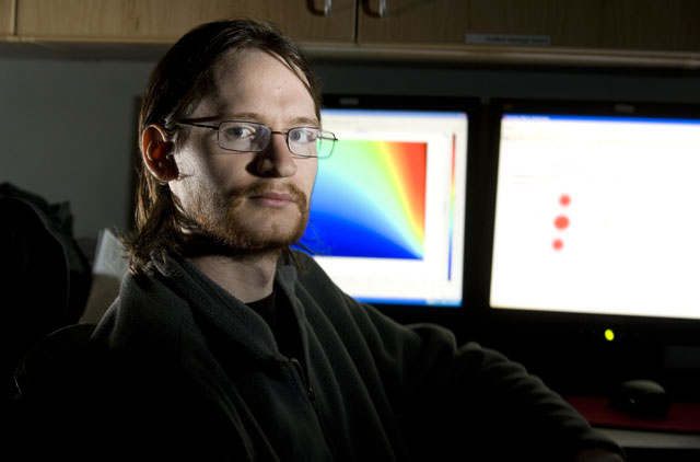 Student Awarded for Microscopic Research