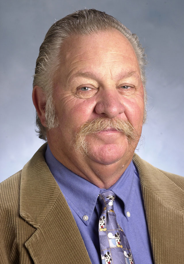William Hughes, director of the W.K. Kellogg Arabian Horse Center
