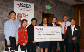 IT Assurance and Security Group Donates to CBA