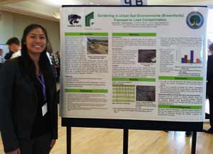 Engineering Student Presents at National Conference