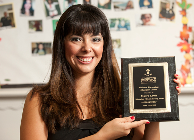Resource Center Coordinator Honored with CSU Award