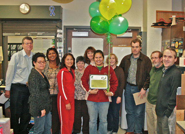 College of Science Honors Staff Member