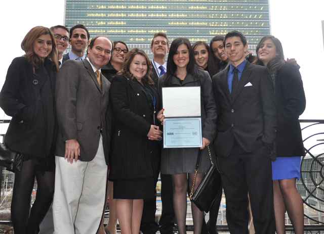 Model UN Team Wins Honors at National Competition