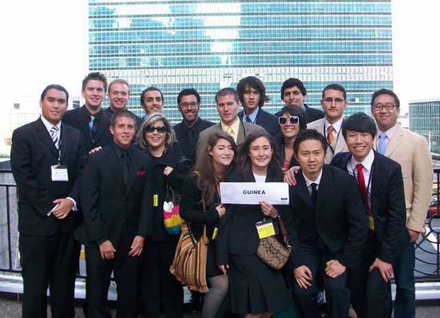 Model UN Team Represents Guinea