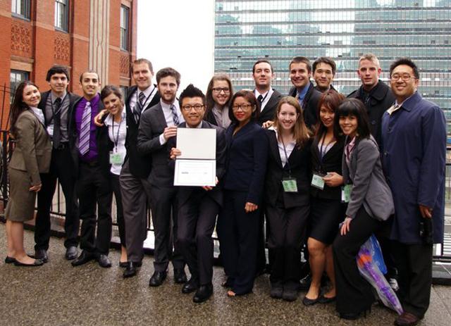 National Model UN Team Continues a History of Success