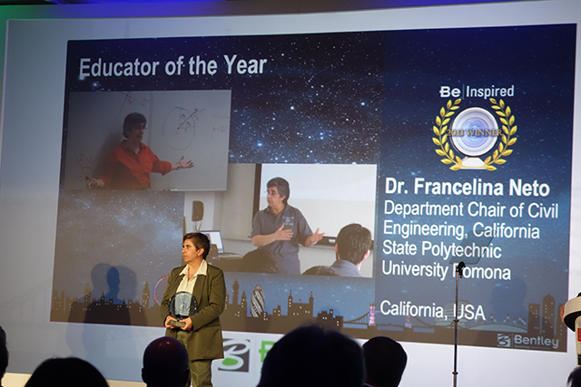 Professor Wins Educator of Year Award in London