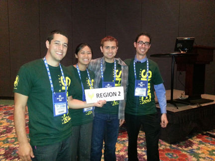 Hispanic Engineering Students Shine at Conference