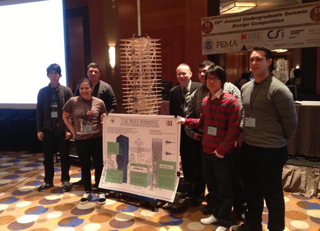 Seismic Design Team Posts Top 5 Finish