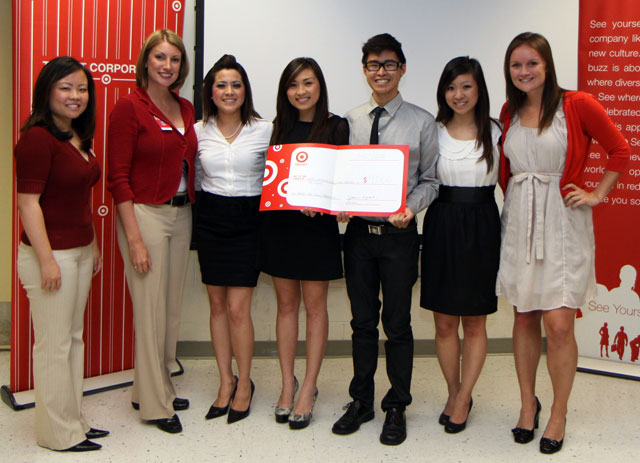 Student Teams Compete in Target Case Study