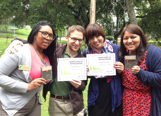 University Housing Staff Win Honors at Conference