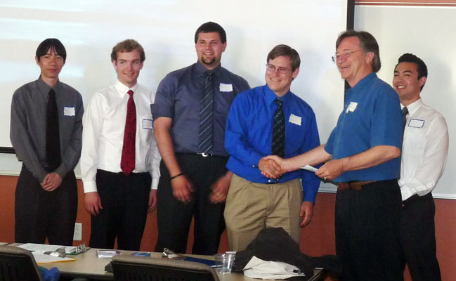 Aerospace Engineering Teams Win Design Competition
