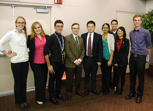 Civil Engineering Honors Society Wins Prominent Award
