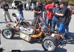 Hybrid Car Team Shows off at Long Beach Grand Prix