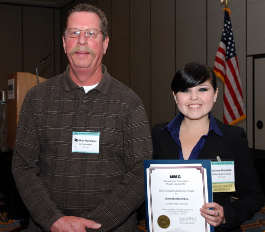 Meat-ing Excellence for Ag Student