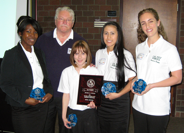 Food Marketing Team Scores at Competition