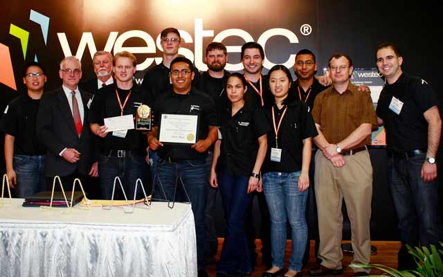Engineering Team Wins at WESTEC Challenge