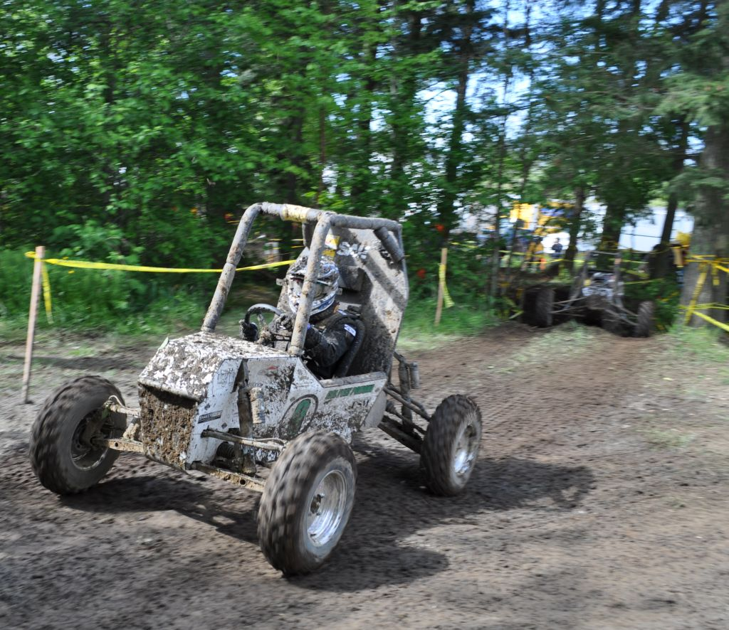 Cal Poly Pomona's Baja SAE team participates in the endurance race at the international competition in Bellingham, Wash on May 22, 2010.