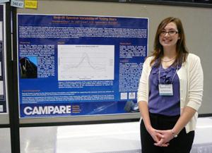 Astronomy Student Receives National Presentation Award