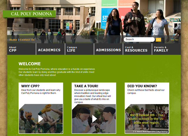 Student Affairs Launches cpp4me.com for New Students