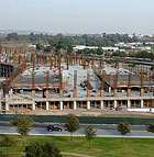 The Parking Structure at Cal Poly Pomona takes shape.