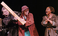 "Theatre Presents War Drama ""Mother Courage and Her Children"""