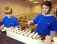 University Hosts K-12 Students at Science Olympiad Competition