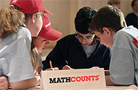 University Sponsors Regional Mathcounts Competition