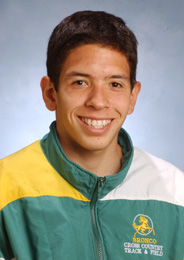 Freshman Mark Batres Wins CCAA Cross Country Championship
