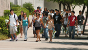 Thousands of New Students Visit Campus