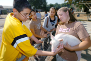 GEAR-UP Students Learn From Cal Poly Pomona Students