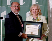 Glenda Brock Honored With 2006 Hart Award