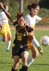Women's Soccer Team Faces UC Davis In Opening Round of CCAA Tournament