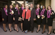 Rose Parade Queen and Court Visit Cal Poly Pomona