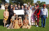 Native American Health Center Grant Presented During Healing the Earth Powwow