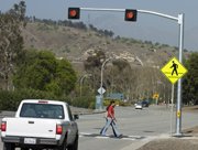 Pedestrian-Friendly Changes Made to Kellogg Drive