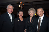 Harvest Auction 2002 Honors Carol and Jim Collins While Raising Funds for School of Hospitality Management