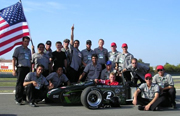 Formula Race Team Among the Best in Italian Competition