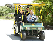 Trashed Cart Transformed Into Treasured Solar Vehicle