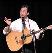One-Man Show Features Music, Comedy and Political Satire
