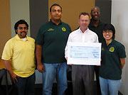 Union Pacific Railroad Gives Scholarship Money to Engineering