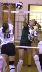 Broncos Volleyball Team Sets Sights High, Prepares to Open 2002 Home Schedule