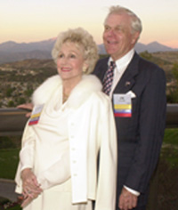 University Honors Philanthropists Carol And Jim Collins At Harvest Auction 2002