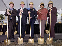 Campus Celebrates Parking Structure Groundbreaking, Prepares for Traffic Impact