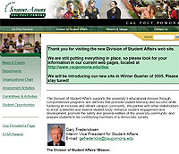 Division of Student Affairs Launches New Web Look and Online Features