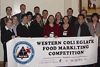 College of Agriculture Students Take Second Place in Western Collegiate Food Marketing Competition