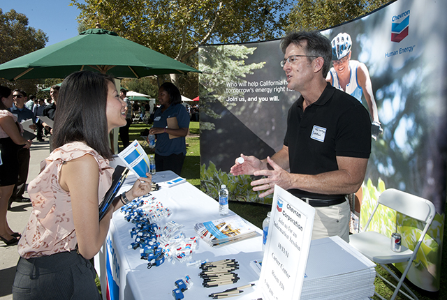 Recruiters, Employers Visit Campus for Career Fairs